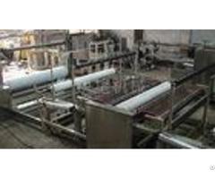 Spun Bonded Fabric Wood Pulp Spunlace Cloth Automatic Slitting Machine 50 90 M Min