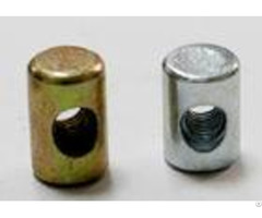 Non Standard Shaped Round Coupling Nut With Sight Hole M8 M30 Grade A