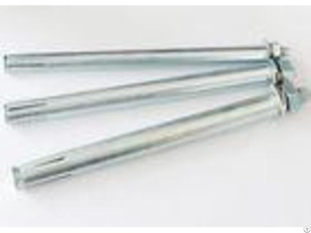 M6 M24 Wedge Expansion Anchor Bolt Excellent Choice For Concrete Building