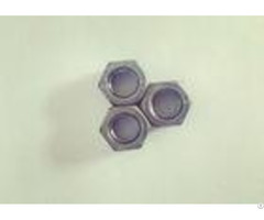 Chinese Standard M12 Hex Nut Primary Color Simple Structure 4 Hardness Classes