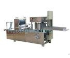 Non Woven Embossed Fabric Folding Machine Multi Function 150mm 600mm Size