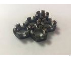 M16 Primary Color Carbon Steel Hexagon Slotted And Castle Nuts