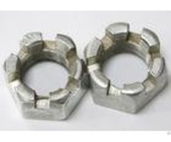 Hexagon Slotted Metric Castle Nuts Hardware Fasteners Heavy Hex Jam Nut