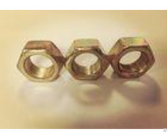 Anti Theft Security Fine Thread Hex Nuts M16x1 5 Free Sample For Construction
