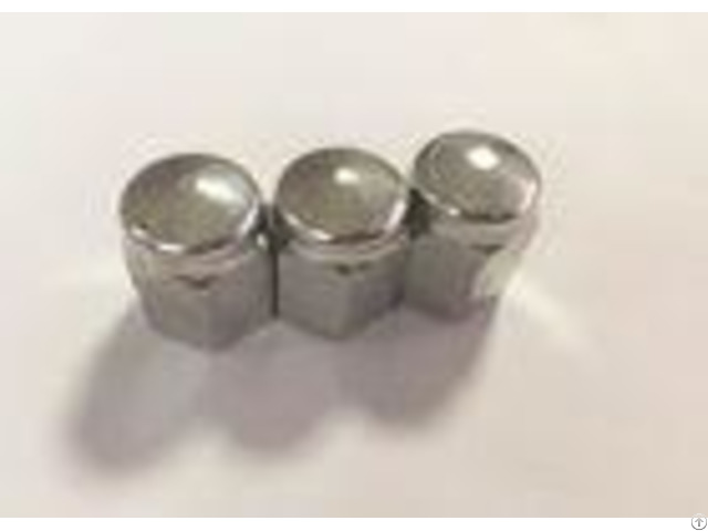 M14 Carbon Steel White Zinc Plating Wheel Nuts With 28mm Thickness