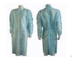 Lightweight Non Woven Disposable Isolation Gowns Protection Universal Eco Friendly