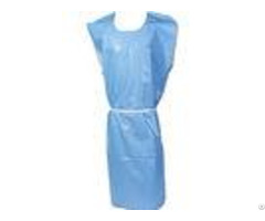 Oil Repellent Disposable Dental Gowns Infection Control With Stretchable Tie
