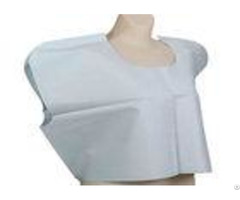 High Absorbency Tissue 30 X 21 Disposable Dressing Gowns For Patients