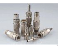 Nickle Plated Pneumatic Quick Connect Coupling In Brass Lsq 17 Rectus 17ka