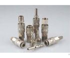 Single Shut Off Pneumatic Quick Connect Coupling Lsq 19 Rectus 19ka In Brass