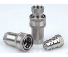 Ss 316 Stainless Steel Quick Release Couplings 1 Inch Small Size Nptf Thread