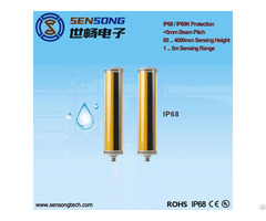 Sensong Barrier Sensor Waterproof Safety Light Curtain Ip69k 24v Npn Pnp Relay