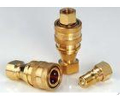 Kzd Hydraulic Quick Connect Couplings High Performance Brass Iso7241 B
