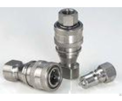 Stainless Steel Hydraulic Quick Connect Couplings Female Thread Kzf Iso7241 B
