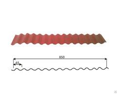 Steel Wave Tiles 14 65 850