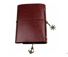 A4 A5 Pu Leather Notebook With Elastic Band Notebooks Office School Supplies