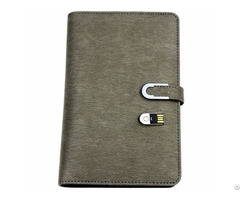 Conference Notebook A6 With Powerbank Cell Phone 8gb Usb
