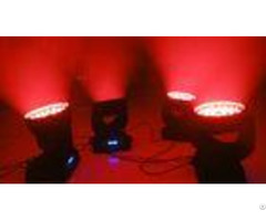 Dmx512 Led Zoom Moving Head Light Built In Synchronous Strobe Effect