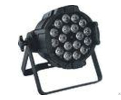 18pcs 10w Rgbwa 5 In 1 Die Casting Aluminum Black White Led Par Can Light