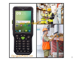Handheld Barcode Scanner Terminal For Warehouse Management Autoid 6l P