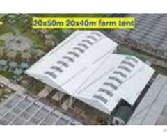 Wind Resistant Transparent Party Tent Temporary Use Large With Pvc Sidewalls