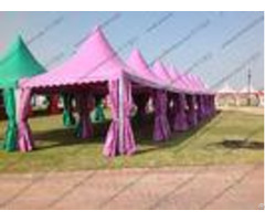Colorful Multi Side Pvc Pagoda Tent Aluminium Alloy Frame For Event Party