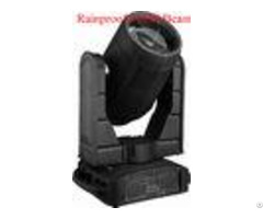 Rainproof Beam Moving Head Light Optional 12 16 Channels Ip54 Protection Rating