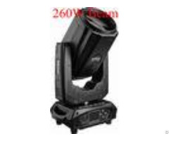 Event Auto Run Rgbw Led Dmx Moving Head 260w 18 Channels With Rotation Prism