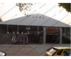 Waterproof Outdoor Exhibition Tents 40 X 60m Trade Show Canopy On Special Floor