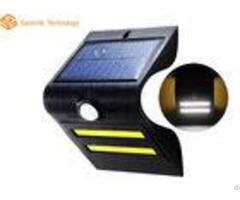 Warm Color Solar Powered Led Motion Sensor Light 1 5w 150lm 50000hrs Warranty