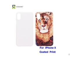 Wholesale White Sublimation Coating Design Mobile Phone Back Cover
