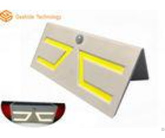 5w 500lm Motion Sensor Solar Garden Light Wireless Installation For Driveway