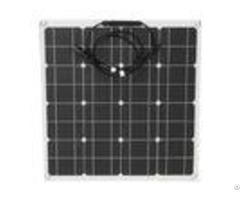 Black 12v Mono Cell Solar Panel Uv Resistant Easy Installation Without Frame