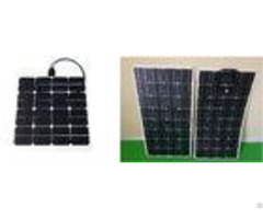 Light Weight 100w Residential Solar Panels Convenient Installation Water Proofing
