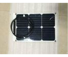 Custom Size Sunpower Flexible Solar Panels 18w 12v With Ce Lvd Sgs Certification
