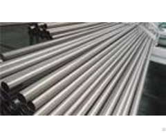 Grade 9 Seamless Titanium Tubing High Accuracy Long Round Hollow Tube