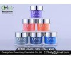 Easy Dipping Fingernails Air Dry Multiple Colors Nail Dip Powder 2 Oz Custom Made