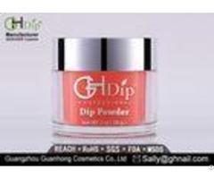 Natural Gel Dip Powder Nails Polish Healthy For Nail Beds Water Resistant