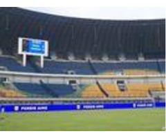 Die Casting Stadium Perimeter Led Display 5v 40 A Football Advertising Boards