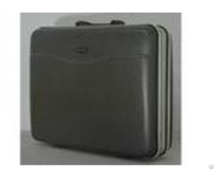 Three Piece Abs Business Briefcase Bag Set Qx019 With Black Iron Frame