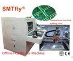 Manual Loading Unloading Pcb Depaneling Router Machine Computerized Smtfly F01 S
