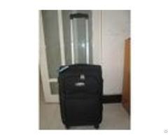 Qx019 Eva Soft Trolley Luggage Case 3 Pcs 4 Wheel Lightweight Suitcase Set