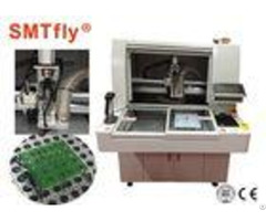 Cnc Pcb Depaneling Router Machine Manual Loading Unloading Smtfly F01 S