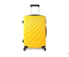 Business Travel Trolley Luggage Set Abs Waterproof With 4 Rotative Single Wheel