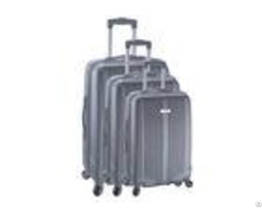 Travel Trolley Bags Set Of 3 Abs With Normal Combination Lock Customized