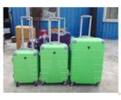 Abs Colorful Hard Case Spinner Luggage Sets With 4 Single Universal Wheel