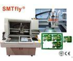 High Cutting Accuracy Pcb Depaneling Router Machine 320 320mm Panel Size
