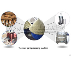 High Quality Cassava Gari Making Machine