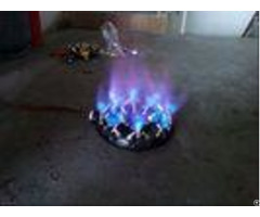 Cast Iron Lpg Ng Gas Jet Burner Built In With 32 Brass Nozzles 85 Mj Hr