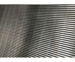 Flat Wedge Wire Screen Plate For Filtering Sea Water In Fish Farms